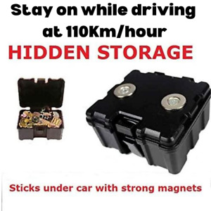 SECRET MAGNETIC CAR TRUCK VAN STASH SAFE HIDDEN STORAGE COMPARTMENT STASH BOX