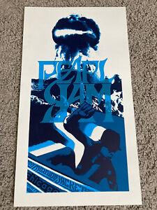 Pearl Jam Poster Chicago 2006 Klausen Silkscreen Concert Poster 6X12