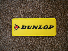 75mm DUNLOP MOTORING EMBROIDERED PATCH