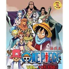 ONE PIECE Vol.101-150 Box Set Wan Pisu Pirate King Anime DVD