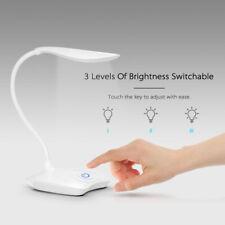 LED Lampada da scrivania USB Cura degli occhi Lampada da tavolo bianca Desk Lamp