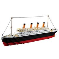 3D Titanic Block Ship Educational Building Bricks Toy Compatible For Kids Play