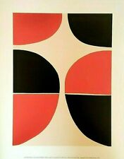 Sir Terry Frost RA - June, Red and Black (1965) - FINE ART PRINT
