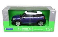 Welly 1/24 Mini Cooper S Paceman Diecast Model Car Blue (24050)