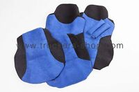 MAN TRUCK VELOUR SEAT COVERS IN BLUE/BLACK[TRUCK PARTS & ACCESSORIES]