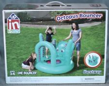 Octopus Inflatable Bouncer UP IN & OVER Bestway Trampoline Bounce House Jumper