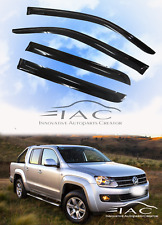 MIT for Volkswagen Amarok In-channel Window Deflector Weather Guard 2012-