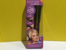 In Styler Ionic Styler Pro Ceramic Hot Brush Flat Iron Damage Box