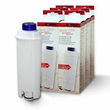 6 Stück DeLonghi  Wasserfilter DLS C002 SER3017 5513292811 von Scanpart