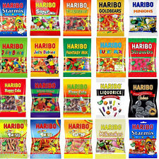 HARIBO 1 FULL BAG OF SWEETS VARIOUS FAVOURS TREATS WEDDING HALLOWEEN BIRTHDAY