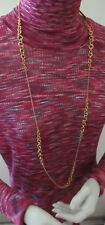 Nwt Michael Kors Holiday Lux Gold Tone Chain Link Necklace- Mkj6042710-$145