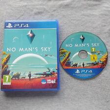 Ningún hombre's Mans cielo Playstation 4 PS4 v.g.c. rápido post (acción/aventura juego)