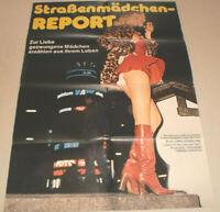 A1 Filmplakat ,STRAßENMÄDCHEN REPORT,SEX AKT,NUDE