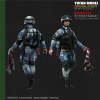 1/35 Chinese PLA ARMY Resin Kits Unpainted Figure YUFAN Model