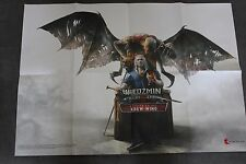 OFFICIAL THE WITCHER WILD HUNT BLOOD AND WINE PROMO POSTER  RARE!!!!
