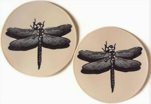 Beige Silicone Dragonfly Table Trivet Table Placemat Kitchen Hot Pad Candle Base