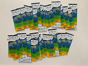 MLB Tampa Bay Devil Rays Inaugural Season Ticket Stubs Vintage Lot Baseball 1998