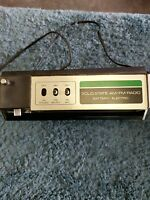 vintage Capehart am fm radio solid state battery elecrtric (Tested & works)