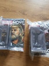 Marvel movie figurine collection 54 and 55
