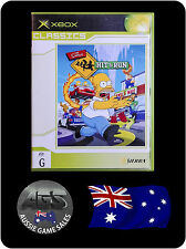 The Simpsons Hit and Run (Xbox + Xbox 360, VGC, COMPLETE, FREE REGISTERED POST)