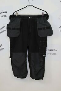 Helly Hansen Work Men WestHam Constr. Pirate Pants Cordura Holster Pockets C52