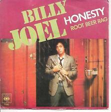 """45 TOURS / 7"""" SINGLE--BILLY JOEL--HONESTY / ROOT BEER RAG--1979"""