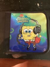 Spongebob Squarepants Cd/Dvd Case Holder