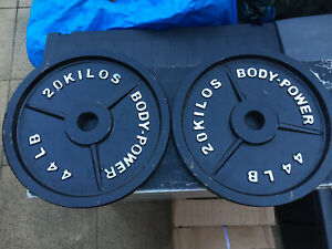 2 X 20kg Bpdypower Olympic Weight Plates