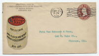 1908 Chicago IL Wyandotte Butter Salt ad cover [y4364]