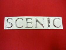 RENAULT SCENIC BOOT BADGE Rear Emblem