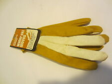 Western Wood Mike Suyderhoud competition water ski gloves Vintage New S gold