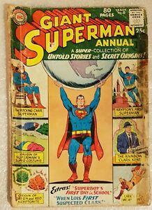 DC USA Giant SUPERMAN Annual #8 Summer 1964
