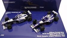 World Champion Set 5 D. Hill J. Villeneuve Williams Renault FW18 FW19  1:43