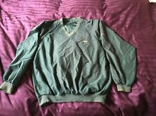 AUGUSTA NATIONAL GOLF SHOP MASTERS Green Pullover Windshirt Jacket Medium V Neck