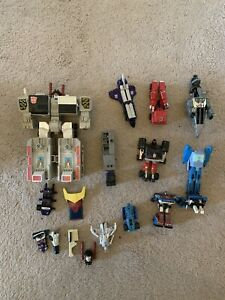 G1 Transformers Lot Metroplex, Astrotrain, Grimlock, Trailbreaker -  For Spares