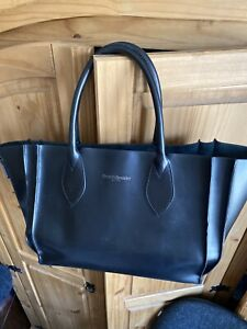 Russell and Bromley black leather bag