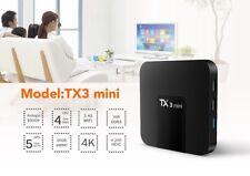 TX3 Mini 4K TV Box 2GB + 16GB 64Bit Android 7.1 Quard Core S905W 2.4GHz WiFi
