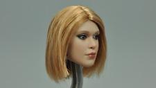DAMTOYS 1/6 Scale Combat Girl Series Vicky Head Model Sculpt DCG002