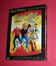 JONNY Quest  4 DVD  26 EPISODIOS  TEMPORADA 1,  11h. COLOR AUDIO: ESPAÑOL NUEVO