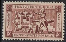 Scott 1071- MNH- Fort Ticonderoga Bicentennial 1755-1955- 3c unused mint stamp