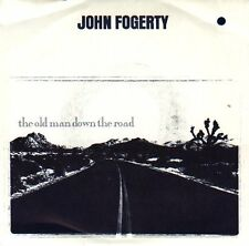 """JOHN FOGERTY Old Man Down The Road PIC SLEEVE 7"""" 45 rpm record NEW + title strip"""