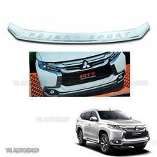 Fits Mitsubishi Pajero Montero Sport 2016 Fitt Chrome Front Bumper Line Garnish