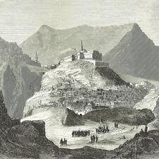 Fortezza Bajaz Armenia Generale Ferik Pasha cm 23 x 18