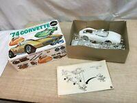 MPC 1/25 Scale 1974 74 Corvette Vette Model Car Kit 1-7406-250 454 Engine