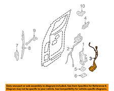 SUZUKI OEM 09-12 Equator Rear Door-Lock or Actuator Latch Release 8280182Z00