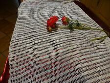 futur rideau porte fenétre  CROCHET coton FAIT MAIN 2m,20x0,78
