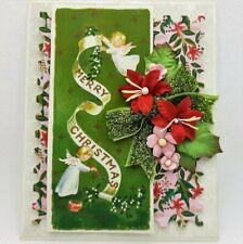 Handmade Christmas Holiday Greeting Card- ocbrandy Style keepsake quality r