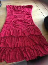 Tammy Red Scrapless Dress Age 16