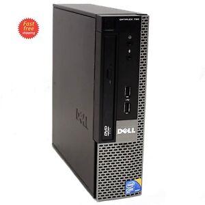 Dell Optiplex 780 USFF Intel Dual Core RAM 4GB, HDD 160GB DVD WIN 7 WIFI