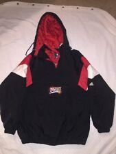 NBA Philadelphia 76ers Sixers Men Pullover Hooded Jacket Coat Sz M